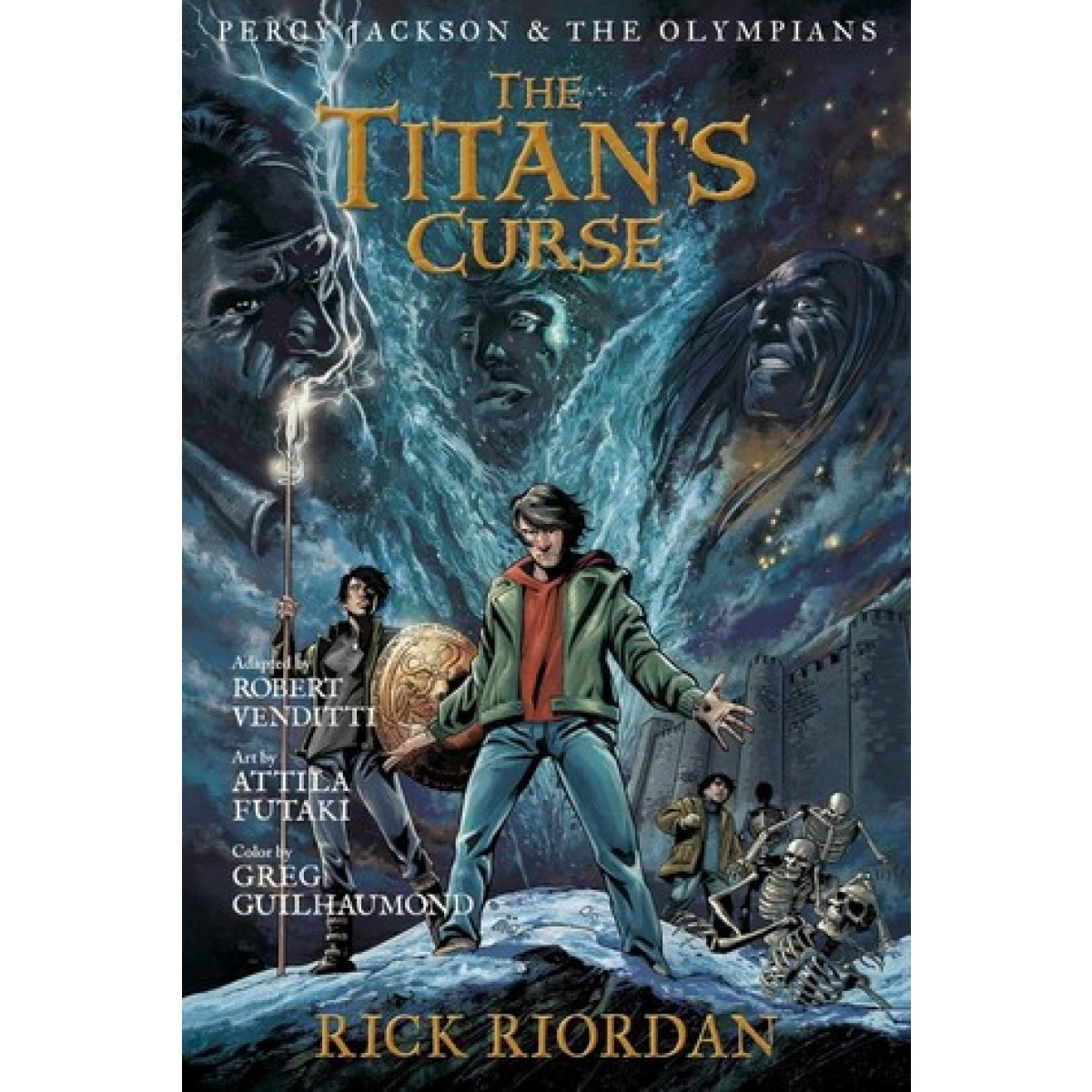 Percy Jackson And The Olympians The Titan's Curse: The