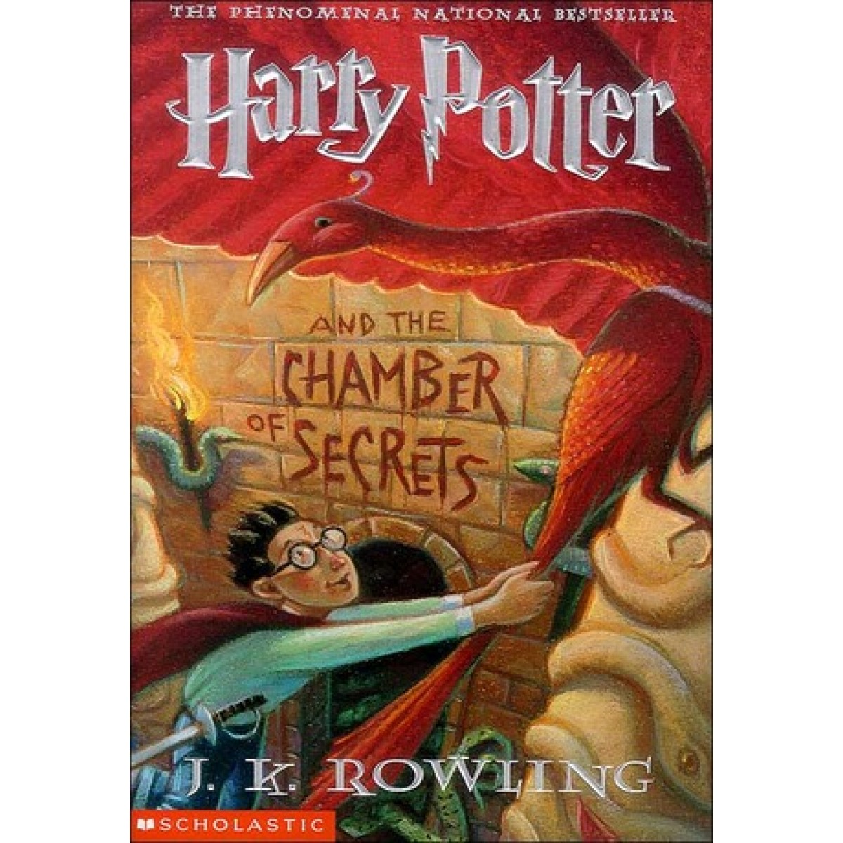 Harry Potter Book Two ~ Harry potter and the chamber of secrets book