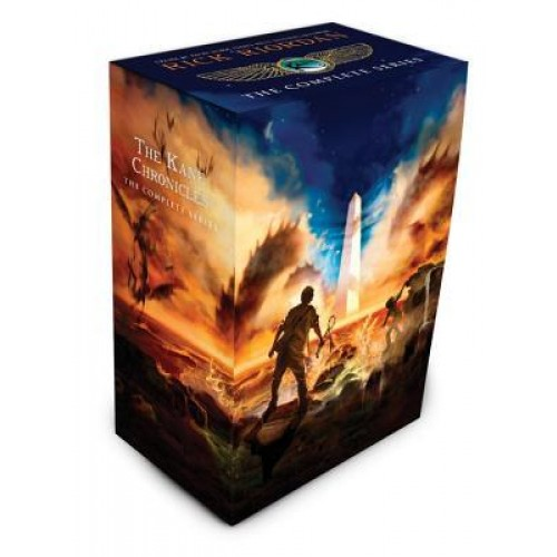 The Kane Chronicles Box Set (Kane Chronicles #1-3)