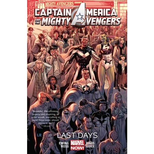 Captain America & the Mighty Avengers Vol. 2: Last Days (Captain America & the Mighty Avengers #2)
