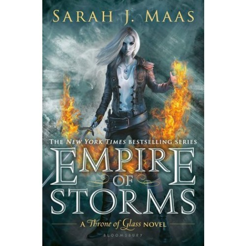 Empire of Storms (Throne of Glass #5) (Paperback)