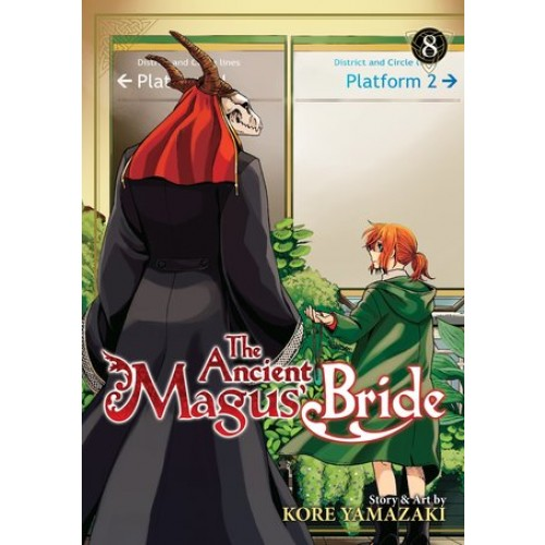 The Ancient Magus' Bride, Vol. 8 (The Ancient Magus' Bride #8)