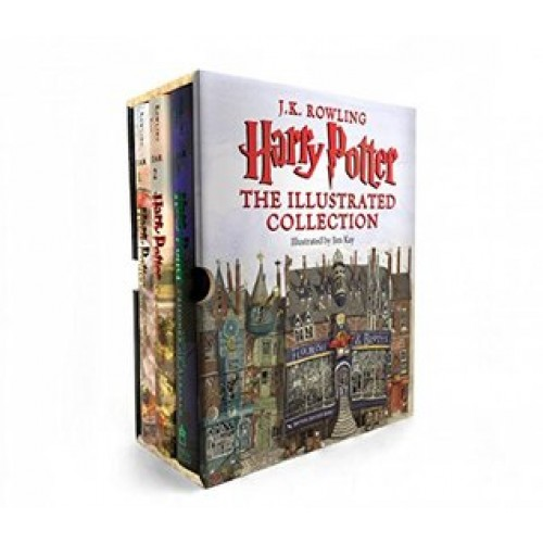 Harry Potter: The Illustrated Collection (Harry Potter #1-3)