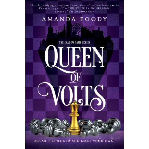 Queen of Volts (The Shadow Game #3)