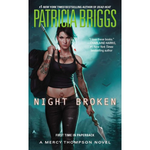 Night Broken (Mercy Thompson #8)
