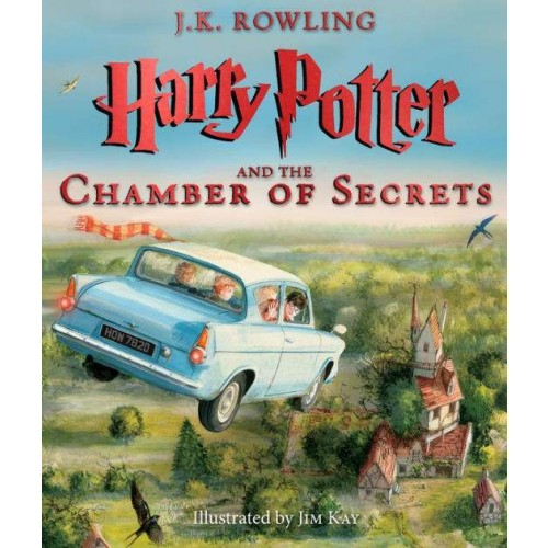 Harry Potter and the Chamber of Secrets: The Illustrated Edition (Harry Potter #2)