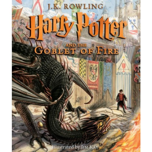 Harry Potter and the Goblet of Fire: The Illustrated Edition (Harry Potter #4)