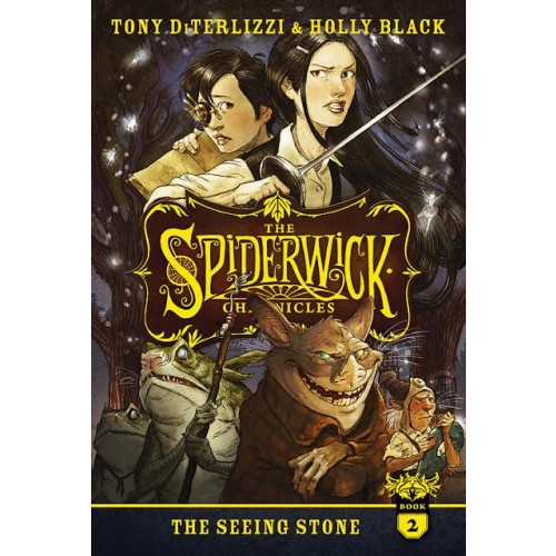 The Spiderwick Chronicles: The Seeing Stone (The Spiderwick Chronicles #2)