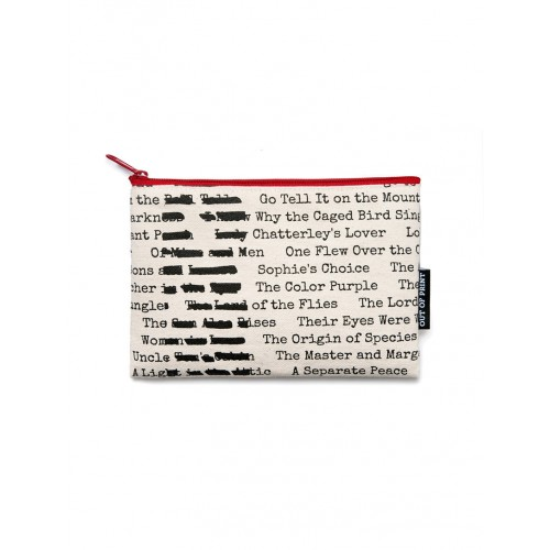 Banned Books - Pouch