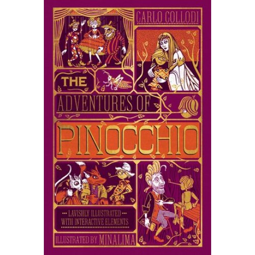 The Adventures of Pinocchio [Illustrated with Interactive Elements]