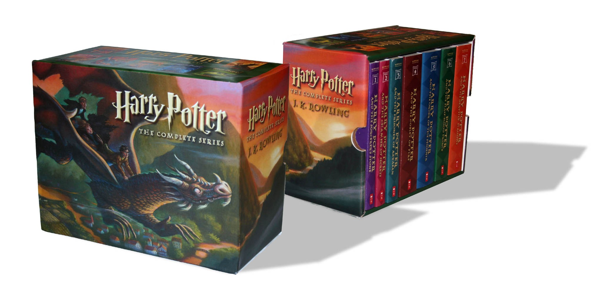Harry Potter Book Is About : Harry potter paperback box set books children s
