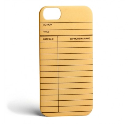 Library Card - iPhone 5 Case